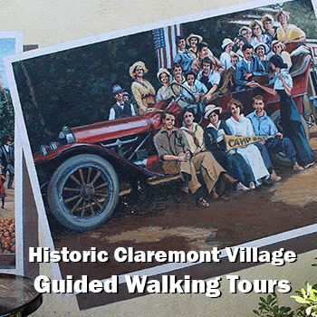 Claremont Village walking tours